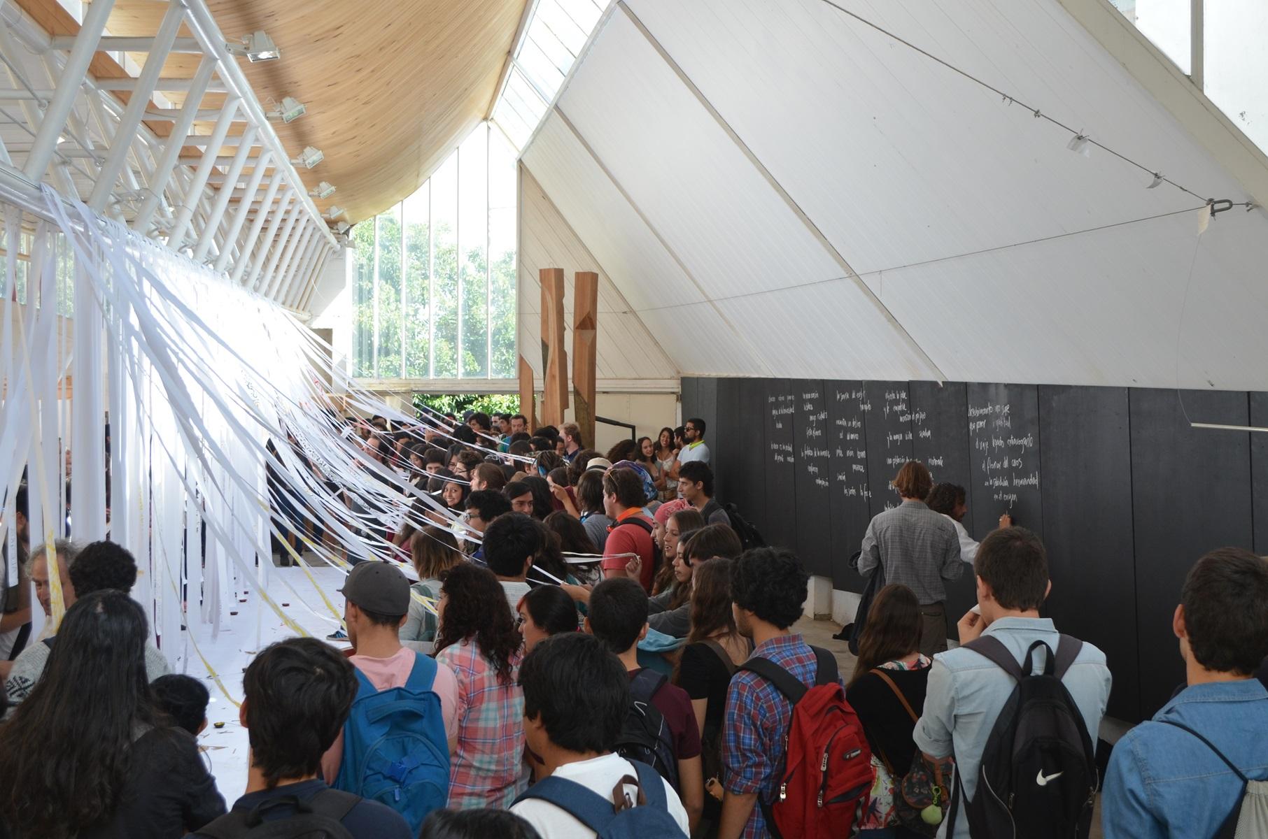 La escuela de arquitectura y dise o dio la bienvenida a un for Arquitectura y diseno las palmas