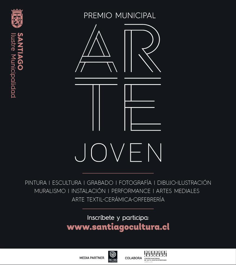 Afiche Premio Arte Joven